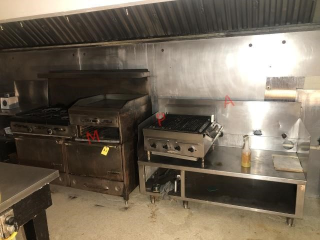 Used industrial cooking equipment