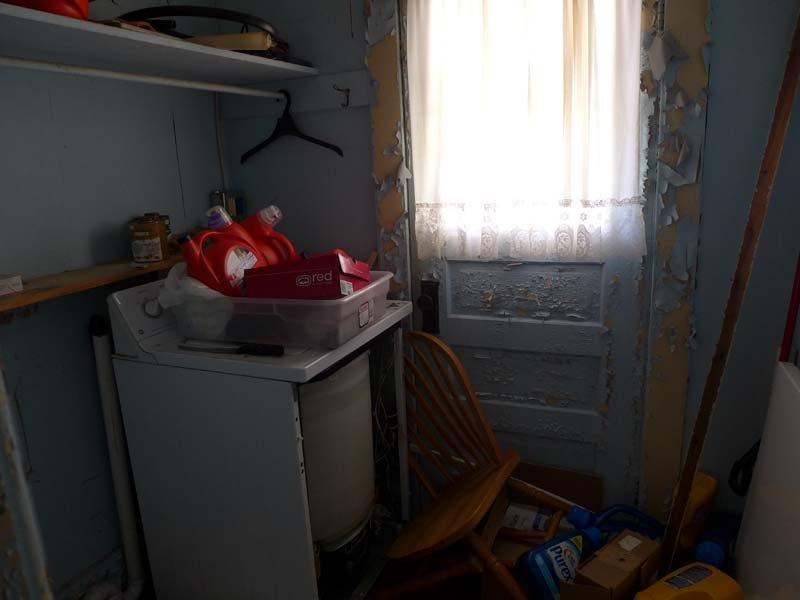 Photo of laundry room