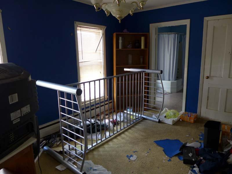 Photo of blue bedroom